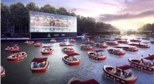 A Floating Cinema With A Fleet Of Private Boats And Free Popcorn Is Coming To Illinois This Fall