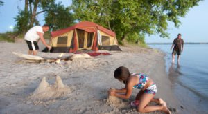 Find The Perfect Place To Sprawl Out On White Sand Beaches At Lake McConaughy In Nebraska