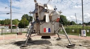 Most People Don't Know There's A Little Apollo 11 Lunar Module Near Cleveland