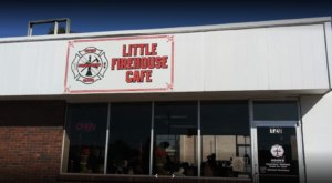 Complete With Firefighter Suits And Firehouse Decor, The Little Firehouse Cafe In Kansas Is A Must-Visit Spot