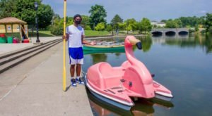 Rent Your Own Floatmingo In Buffalo This Summer Right On Hoyt Lake