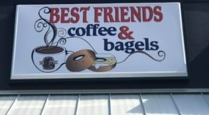 The Loaded Bagel Sandwiches At Best Friends Coffee & Bagels In Indiana Come In More Than Two Dozen Varieties