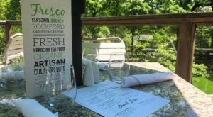 No One Forgets Dining At Fresco At The Gardens, A Restaurant That Sits Right On The Grounds Of The Anderson Japanese Gardens In Illinois