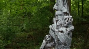 Scavenger Hunt For More Than 100 Artworks At The Sculpture Trails Outdoor Museum In Indiana