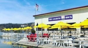 Dine Right On The Confluence Of The Illinois And Mississippi Rivers At The Loading Dock