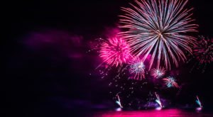 A Drone Flew Over Fireworks In New Jersey And Captured Mesmerizing Footage