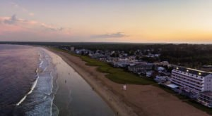Find The Perfect Place To Sprawl Out On 7 Miles Of Sandy Beach At Old Orchard Beach In Maine