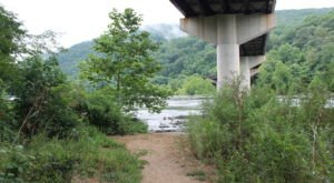 Follow A Sandy Path To The Waterfront When You Visit The Shenandoah River In West Virginia