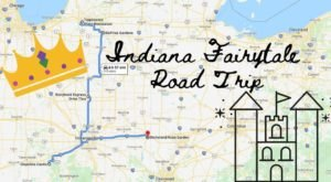 The Fairytale Road Trip That'll Lead You To Some Of Indiana's Most Magical Places