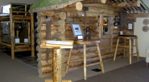 Visit A Replica Pioneer Cabin At the Richard Proenneke Museum In Iowa