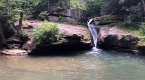 Swim Underneath A Waterfall At This Refreshing Natural Chute In West Virginia