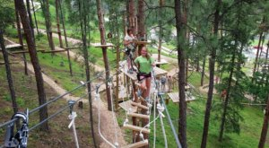 Not Many People Realize That South Dakota Is Home To A Stomach-Dropping Canopy Adventure Walk
