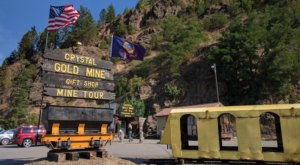 The Crystal Gold Mine In Idaho Offers The Only Underground Mine Tour In The Northwest