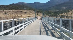 The Most Memorable Historic Swinging Bridge In Colorado Is Browns Park
