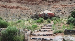 Enjoy A Relaxing, Rustic Stay At This Hillside Yurt In Abiquiu, New Mexico