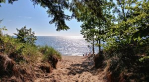 This Easy, 2.5-Mile Hike In Michigan Will Lead You Straight To The Shores Of Beautiful Lake Michigan