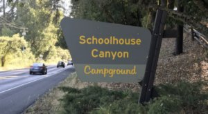 Take The Family For An Old-School Camping Trip At Schoolhouse Canyon Campground In Northern California