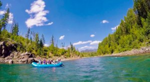 Glacier Guides Takes You Whitewater Rafting Through Montana's Most Famous Park