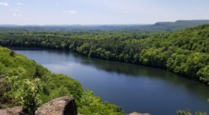 Gaze Over Breathtaking Panoramic Views On The Chauncey Peak Trail In Connecticut