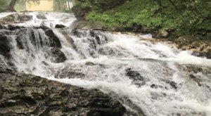 Hike In Solitude To Chaffee Falls In Vermont, A Secluded And Isolated Hike That Guides You To A Mini Falls