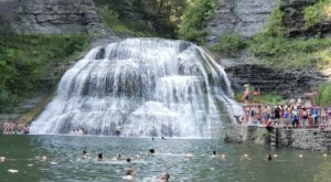 Endfield Falls Swimming Hole Is A Short Hike In New York That Leads You To A Pristine Swimming Hole