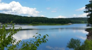 Hike Near A Crystal Clear Reservoir On The Saugatuck Trail, A Peaceful Getaway In Connecticut