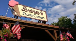 Enjoy Pizza And Frozen Custard On The Shores Of Lake Superior At Sydney's In Grand Marais, Minnesota