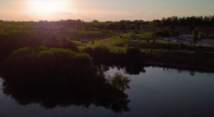 The Drone Footage Of Lake Renwick Preserve In Illinois Is Hauntingly Beautiful