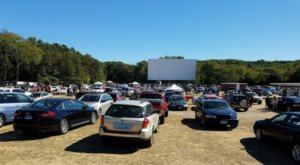 An Old Fashioned Movie Theater In Connecticut, Mansfield Drive-In Has Delighted Visitors Since 1954