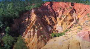 The Drone Footage Of The Mississippi Red Bluff Is Hauntingly Beautiful