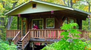 Stay In This Cozy Little Forest Cabin In Minnesota For Less Than $100 Per Night
