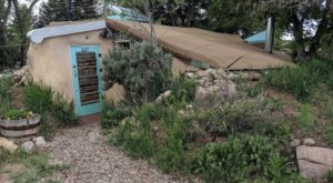 Newly Refurbished, You Can Spend A Night In New Mexico's Very First Earthship