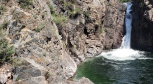 Swim Underneath A Waterfall At This Refreshing Swimming Hole In Colorado