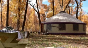 The Dreamy Yurts Along The Gunnison River Are In An Idyllic Setting, Making Them An ideal Summer Destination In Colorado