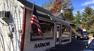 Order Some Of The Best Burgers In Maine At Harmon's Lunch, A Ramshackle Hamburger Stand