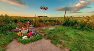 Iowa's Buddy Holly Memorial Is A Quintessential Roadside Attraction