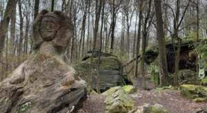 Hike Through Ohio's Rock Maze For An Adventure Like No Other