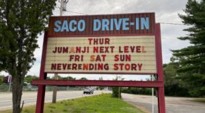 One Of The Best Drive-In Theaters Across America Is The Saco Drive-In Here In Maine