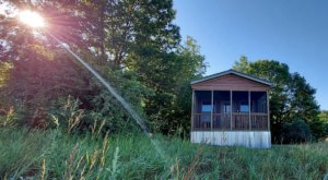 Rent A Lodge-Style Cabin At Michigan's Pontiac Lake Recreation Area For A Fun Family Getaway