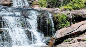 This Easy, 0.7-Mile Trail Leads To Todd Creek Falls, One Of South Carolina's Most Underrated Waterfalls