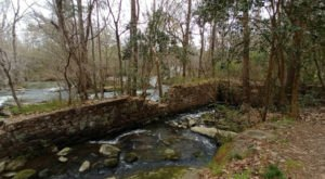 Hike To The Ruins Of A Nearly 200-Year-Old River Factory On The Garden Trail In South Carolina