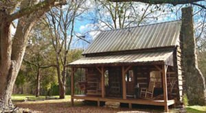 Step Back In Time With A Rustic Stay In A Hand-Hewn 1800s Cabin With Modern Amenities In South Carolina