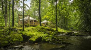 The Dreamy Yurts At Lake Nantahala Are In An Idyllic Setting, Making Them An ideal Summer Destination In North Carolina