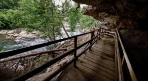 Hike Under A Rock Overhang and Hop Into The River To Beat The Heat At This West Virginia State Park