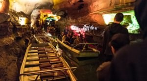 Howe Caverns Is The Deepest Place That You Can Venture To In New York And There's Even A Boat Ride