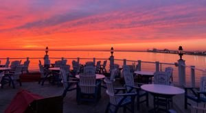 Dine While Overlooking The Chesapeake Bay Bridge At Hemingway's Restaurant In Maryland