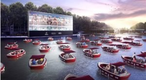 A Floating Cinema With A Fleet Of Private Boats And Free Popcorn Is Coming To Texas This Fall