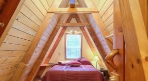 Hideaway In This A-Frame Nestled In The Alaskan Woods