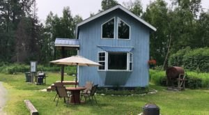 Sneak Away Into The Mountains Of Alaska And Stay In This Charming House By The River
