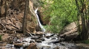 This Easy, Quarter-Mile Trail Leads To Hidden Falls, One Of Utah's Most Underrated Waterfalls